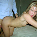 Blonde Anastasia loves to get a fuck in doggy style